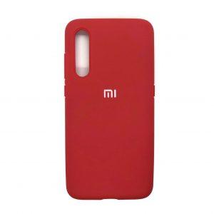 Оригинальный чехол Silicone Cover 360 с микрофиброй для Xiaomi Mi 9 (Красный)