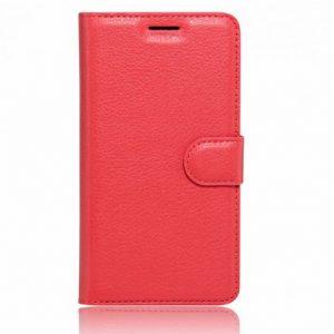 Кожаный чехол-книжка Wallet Glossy с визитницей для Xiaomi Redmi K20 / K20 Pro / Mi 9T / Mi 9T Pro (Красный)