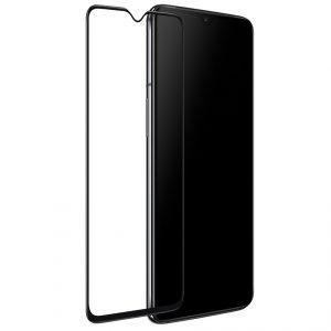 Защитное стекло 3D / 5D Full Glue на весь экран для OnePlus 7 (Black)