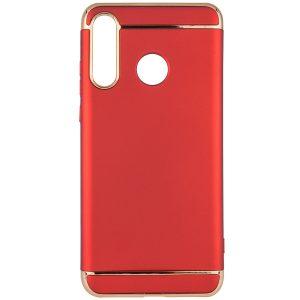 Пластиковый чехол Joint Series для Huawei P30 Lite (Красный)