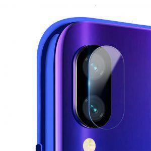 Защитное стекло на камеру для Xiaomi Redmi 7 (Прозрачное)
