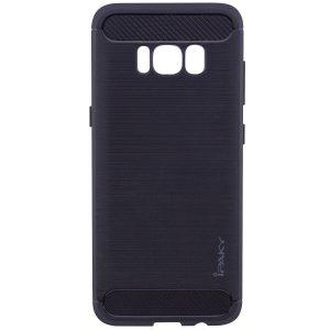 Силиконовый чехол Ipaky Slim Series для Samsung G950 Galaxy S8 (Черный)