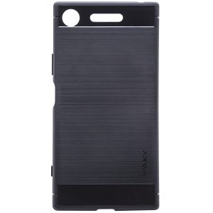 Силиконовый чехол Ipaky Slim Series для Sony XZ1 / XZ1 Dual (Черный)