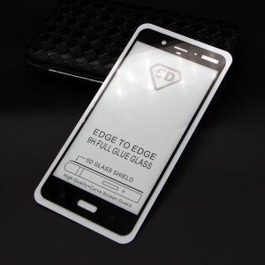Защитное стекло 5D Full Glue Cover Glass для Nokia 8 на весь экран — Black