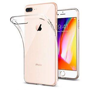 Прозрачный силиконовый TPU чехол для Iphone 7 Plus / 8 Plus