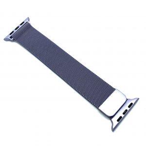 Ремешек Миланская петля Milanese Loop для Apple Watch 38 mm / 40 mm №14 (Сиреневый)