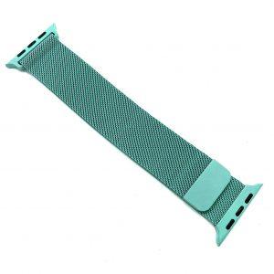 Ремешек Миланская петля Milanese Loop для Apple Watch 38 mm / 40 mm / SE 40 mm №15 (Мятный)