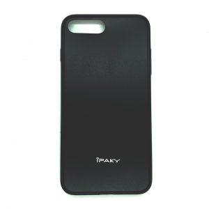 Силиконовый чехол Ipaky  для  Iphone 7 Plus / 8 Plus (Черный)