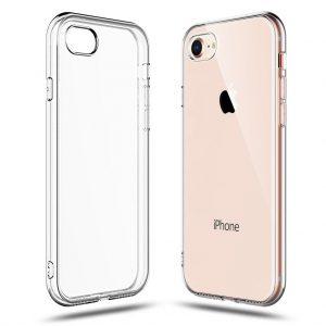 Прозрачный силиконовый TPU чехол для Iphone 7 / 8 / SE (2020)