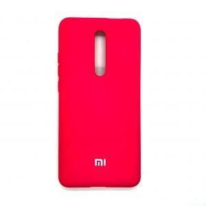 Оригинальный чехол Silicone Cover 360 с микрофиброй для Xiaomi Redmi K20 / K20 Pro / Mi 9T / Mi 9T Pro (Малиновый)