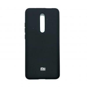 Оригинальный чехол Silicone Cover 360 с микрофиброй для Xiaomi Redmi K20 / K20 Pro / Mi 9T / Mi 9T Pro (Черный)