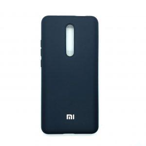 Оригинальный чехол Silicone Cover 360 с микрофиброй для Xiaomi Redmi K20 / K20 Pro / Mi 9T / Mi 9T Pro (Темно-синий)