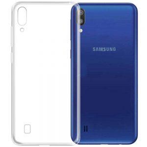 Прозрачный силиконовый TPU чехол для Samsung Galaxy M10
