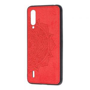 TPU+Textile чехол Mandala с 3D тиснением для Xiaomi Mi A3 (Cc9e) (Красный)
