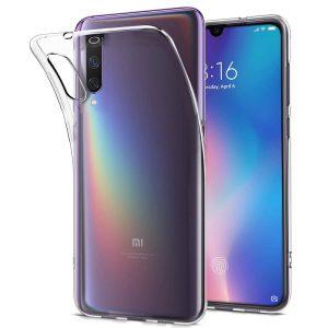 Прозрачный силиконовый TPU чехол для Xiaomi Mi 9