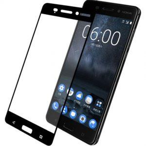 Защитное стекло 2.5D (3D) Full Cover для Nokia 5 на весь экран – Black