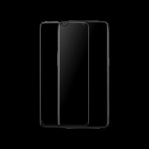 Защитное стекло 3D / 5D Full Glue с полной проклейкой на весь экран для OnePlus 6T (Black)