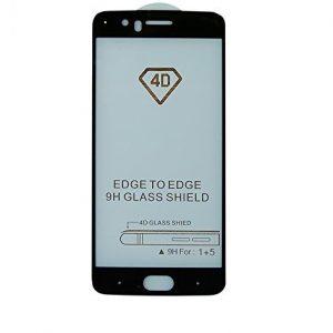 Защитное стекло 4D Full Glue Cover Glass для OnePlus 5 на весь экран – Black