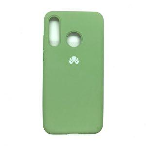 Оригинальный чехол Silicone Cover 360 с микрофиброй для Huawei P30 Lite (Салатовый)