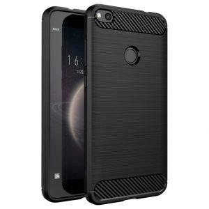 Cиликоновый TPU чехол Slim Series для Huawei P8 Lite 2017 (Черный)