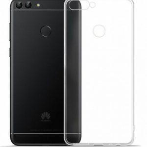 Прозрачный силиконовый TPU чехол для Huawei P Smart