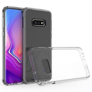 Прозрачный силиконовый TPU чехол для Samsung S10e