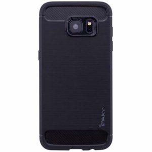 Силиконовый чехол Ipaky Slim Series для Samsung Galaxy S7 Edge (G935) (Черный)