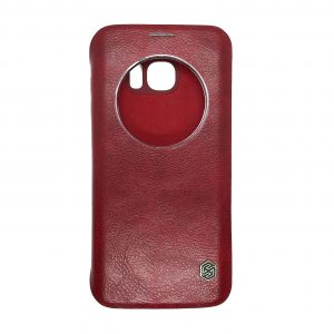 Кожаный чехол-книжка Nillkin Qin Series для Samsung Galaxy S7 Edge (G935)