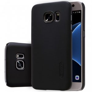 Пластиковый чехол Nillkin Matte для Samsung Galaxy S6 (G920) (Черный)