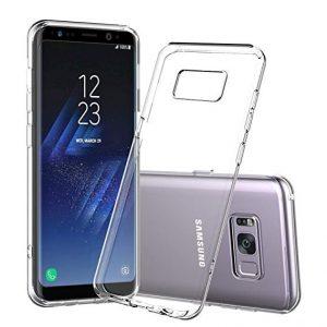 Прозрачный силиконовый TPU чехол для Samsung S8