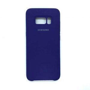 Оригинальный чехол Silicone Case с микрофиброй для Samsung G950 Galaxy S8 (Фиолетовый)