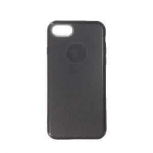 Cиликоновый (TPU+PC) чехол Shine с блестками для Iphone 7 / 8  (Серый)
