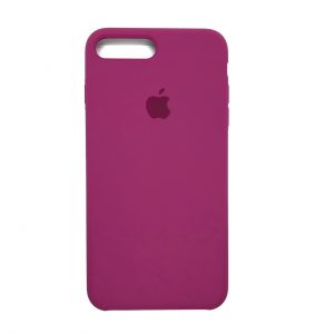 Оригинальный чехол Silicone Case с микрофиброй для Iphone 7 Plus / 8 Plus №52 (Malina)