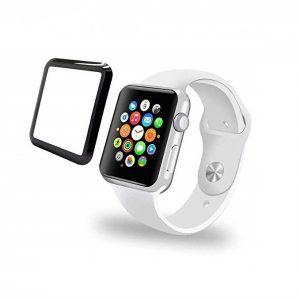 Защитное стекло 3D / 5D Full Glue для Apple Watch 38mm (Black)