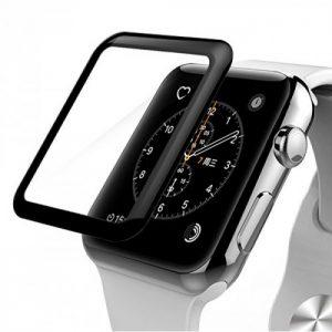 Защитное стекло 3D Full Cover для Apple Watch 42mm (Black)