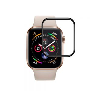 Защитное стекло 3D Full Cover для Apple Watch 44mm (Black)
