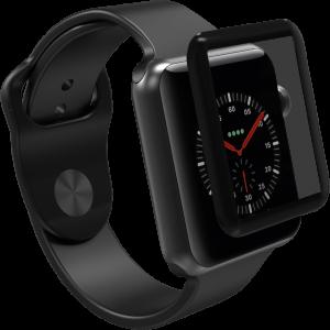 Защитное стекло 3D / 5D Full Glue для Apple Watch 44mm (Black)