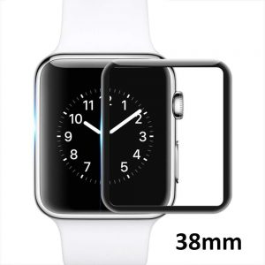 Защитное стекло 3D Full Cover для Apple Watch 38mm (Black)