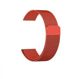 Ремешек Миланская петля Milanese Loop для Apple Watch 38 mm / 40 mm / SE 40 mm №16 (Оранжевый)