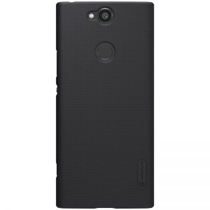 Пластиковый чехол Nillkin Matte для Sony Xperia XA2 Plus (Черный)
