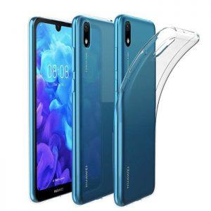 Прозрачный силиконовый TPU чехол для Huawei Y5 2019 / Honor 8s