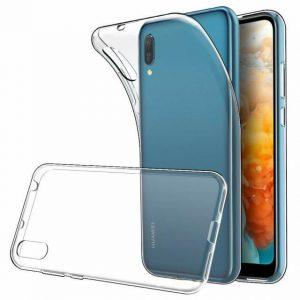 Прозрачный силиконовый TPU чехол для Huawei Y6 (2019) / Honor 8A / Y6s (2019)