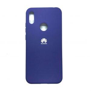 Оригинальный чехол Silicone Cover 360 с микрофиброй для Huawei Y6 / Honor 8A / Y6s 2019 (Фиолетовый)