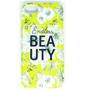 Силиконовый чехол  Endless Beauty для Iphone 7 / 8 (Желтый)