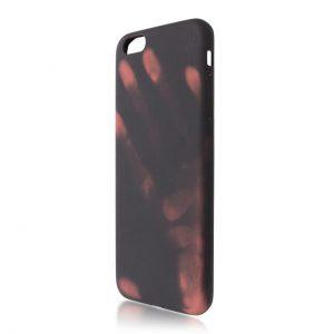 Силиконовый TPU термо-чехол для Iphone 6 / 6S (Черный)