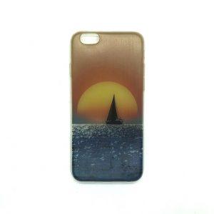 Силиконовый чехол c рисунком для Iphone 6 / 6s (Море)