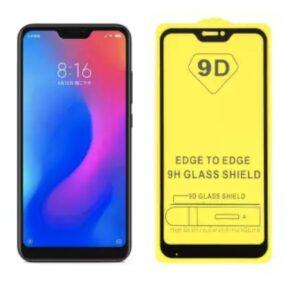 Защитное стекло 9D Full Glue Cover Glass на весь экран для Xiaomi Redmi 6 Pro / Mi A2 Lite – Black
