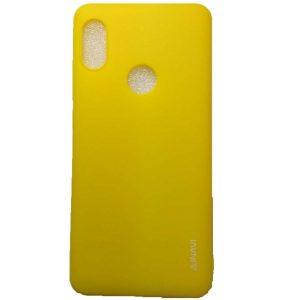 Матовый силиконовый (TPU) чехол для Xiaomi Redmi Note 5 / 5 Pro (Желтый)