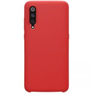 Матовый силиконовый (TPU) чехол для Xiaomi Mi 9 SE (Красный)