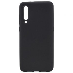Матовый силиконовый (TPU) чехол для Xiaomi Mi 9 SE (Черный)